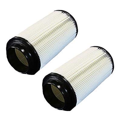 Wellsking 2Pcs 7080595 Air Filter for Polaris Sportsman Scrambler Magnum 400 500 550 570 600 700 800 850 ATV Parts: Garden & Outdoor