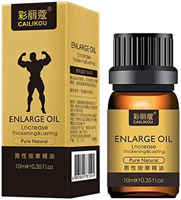 Men's Energy Oil for Sex, Enlarge Massage Permanent Thickening Growth Pills Increase Dick Liquid Men Health Care Enlarge Oil Delay Performance Boost Strength by ColorfulLaVie