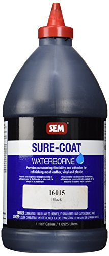 SEM 16015 Black Sure-Coat - 0.5 Gallon