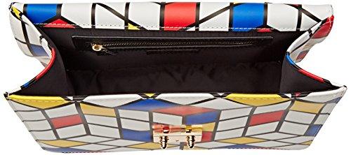 L'AETELIER épaule Caty Rouge Blanc Bleu Blanc portés CAESARS Sacs xrF4wIrq