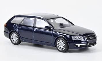 Audi A6 Avant Dkl Blau 2004 Modellauto Fertigmodell Busch 1 87 Spielzeug