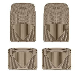 1992-2011 Ford Crown Victoria Tan WeatherTech Floor Mat (Full Set)