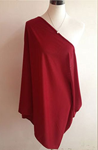 Wholesale Princess Women's Nursing Cover/Infinity Scarf - Red