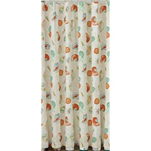 41T2dkWBDEL._SS300_ 200+ Beach Shower Curtains and Nautical Shower Curtains