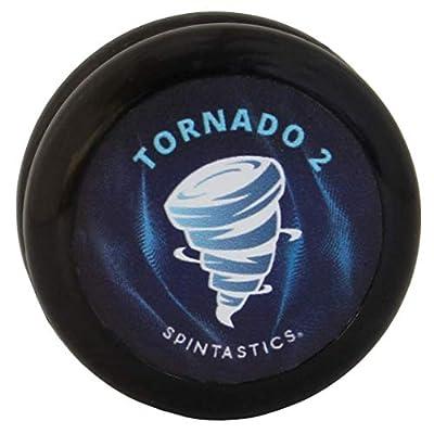 Spintastics Tornado 2 Ball Bearing Pro Yoyo (Black): Toys & Games