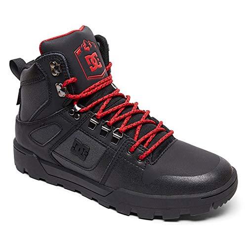 Wnt Dc Shoes top Xksr Pure Leather Men's Boot Black Hi wqpwRCA