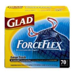 Glad COX70358 - Drawstring ForceFlex Large Trash Bags
