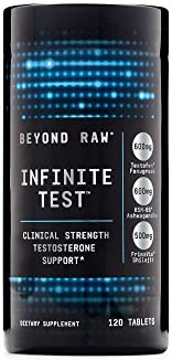Amazon com: Beyond Raw Infinite Test, 120 Tablets, Supports