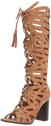 2 Lips Too Women Riley Dress Sandal Luggage