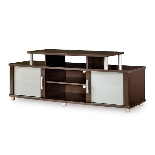 South Shore Furniture City Life Collection TV Stand, Chocolate by South Shore