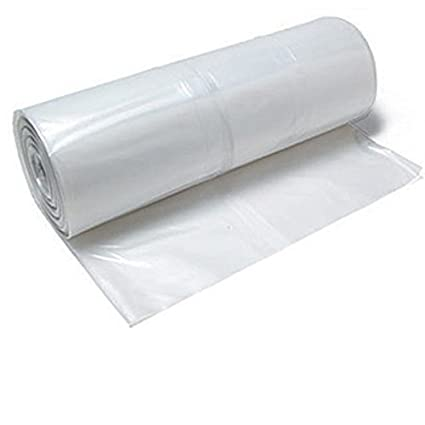 TheSafetyHouse Heavy Duty Slip and Slide Plastic Sheeting 4' x 500'