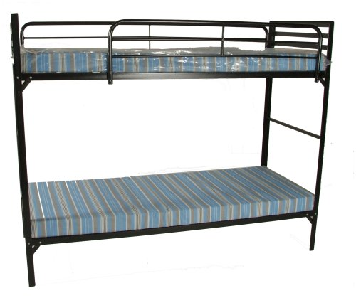 Blantex Heavy Duty 30″ wide Institutional Bunk Bed with 4″ Foam Mats, Outdoor Stuffs
