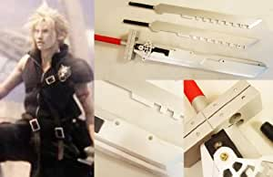 Dream2reality Cosplay Final Fantasy 7 Cloud Strife's 6 in 1 Separable Bust Sword Wood