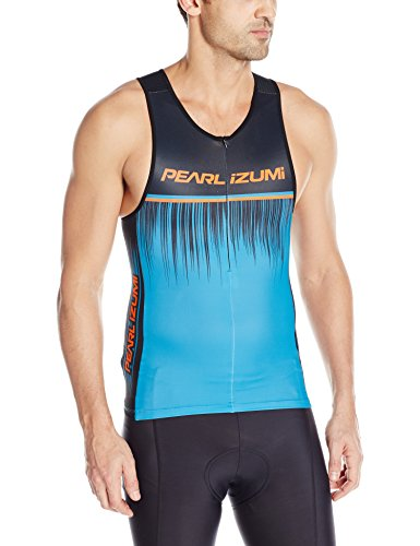 ite Inrcool Limited Tri Singlet, Bel Air Blue Rush, Large ()