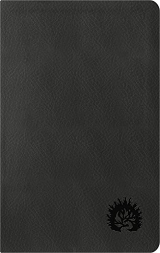 ESV Reformation Study Bible, Condensed Edition - Charcoal, Leather-Like