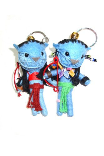Amazon.com: Avatar: Jake Sully, Neytiri 2pcs/set Voodoo ...