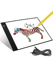 Aitsite A4 LED Tracing Light Boxcon Luce Regolabile Disegno USB Scatola TavolaLuminosa per Gli artisti disegnare disegnare Animazione (33 * 21 * 0.3 CM)