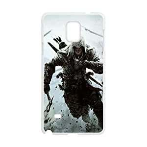 Samsung Galaxy Note 4 White Cell Phone Case Assassins Creed LWDZLW1485 Phone Case Covers Protective