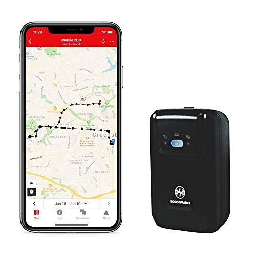 Logistimatics Mobile-200 GPS Tracker with Live Audio Monitoring (Live Car)