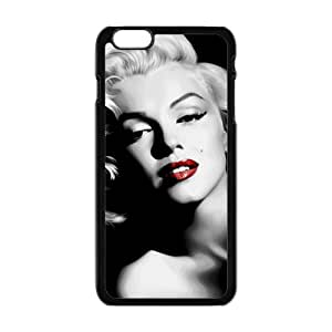 EROYI Marilyn Black and white Case Cover For iPhone 6 Plus Case