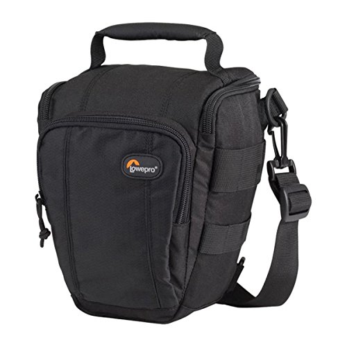 Lowepro Toploader Zoom 50 AW II Camera Case for DSLR and Lens, Black by Lowepro