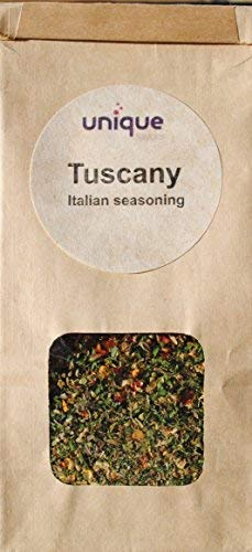 Italian spicy seasoning mix Tuscany 5 in oz recyclable paper bag (Tuscany Italian Dressing)