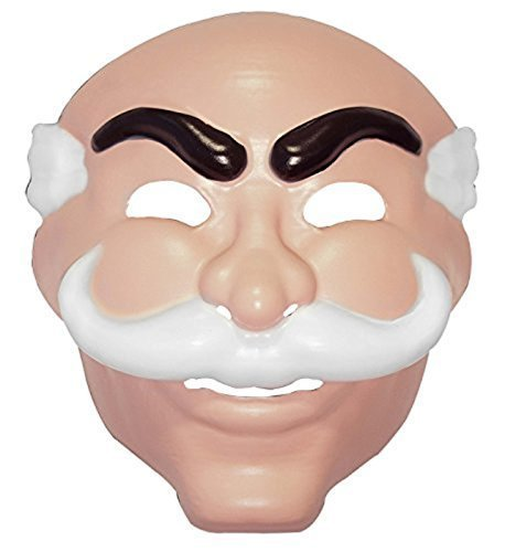 [Mr. Robot Mask, Officially Licensed by NBC Universal] (Costumes F)