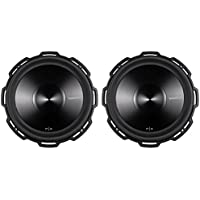 2) ROCKFORD FOSGATE P3D2-15 15 2400 Watt 2-Ohm Car Audio Subwoofers Sub P3D215