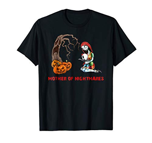 Mother of Nightmare Daughter Halloween Mom Costume T-shirt