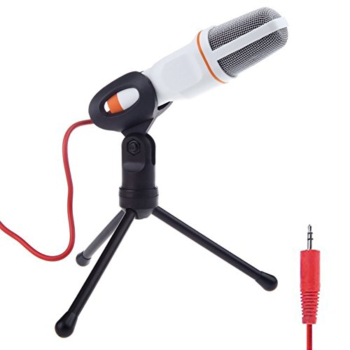 Jeystar Professional Condenser Microphone Audio Studio Mic Sound Recording for Computer PC Notebook