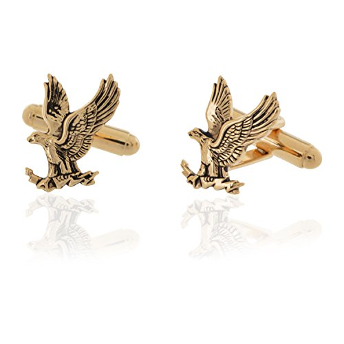 Brass Flying Eagle Cufflinks for sale  Delivered anywhere in USA