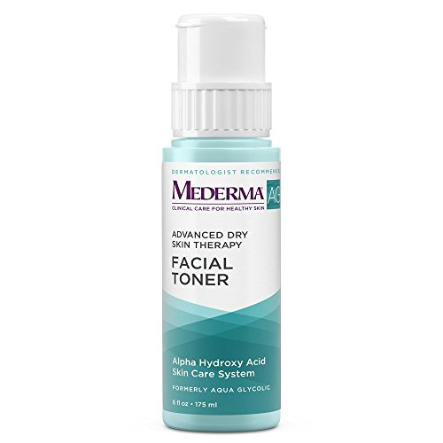 Mederma AG Facial Toner - with glycolic acid to cleanse pores for a smooth, healthy complexion - eucalyptus for a cooling effect  - dermatologist recommended brand - fragrance-free - 6 ounce
