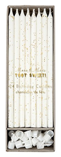 Meri Meri Birthday Candles, 24 Candles (Candles For Cake)