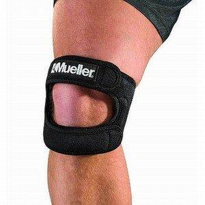 Mueller Maximum Strength Knee Support,Small/Medium,Black