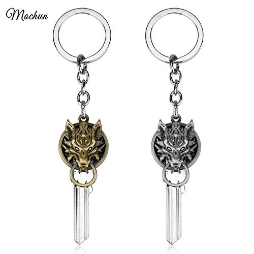 FITIONS - RPG Game Final Fantasy VII Cloud Strife Wolf Head ...