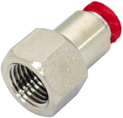 新潟精機 BeHAUS チューブ用ワンタッチ継手 メスストレート チューブ外径:8mm PCF8-02