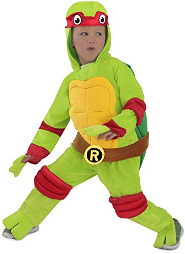 [Teenage Mutant Ninja Turtles Raphael Costume] (Plush Turtle Kids Costumes)