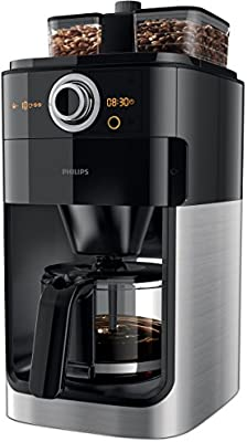 Philips Grind & Brew HD7766 - Cafetera (Independiente, Drip coffee ...