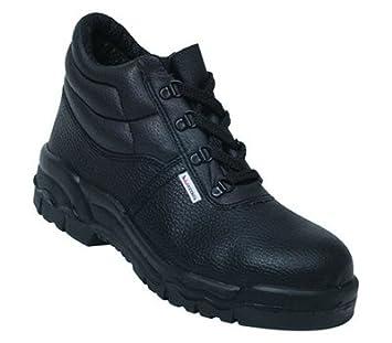 1 par de botas de seguridad negro anillo 8 resistencia a la penetración seguridad, taller y soldadura: Amazon.es: Coche y moto
