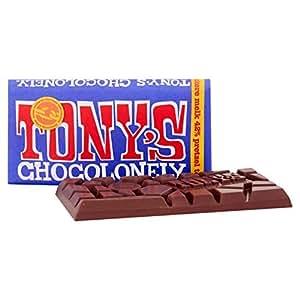 Tony's Chocolonely Dark Milk Chocolate Pretzel Toffee 180g
