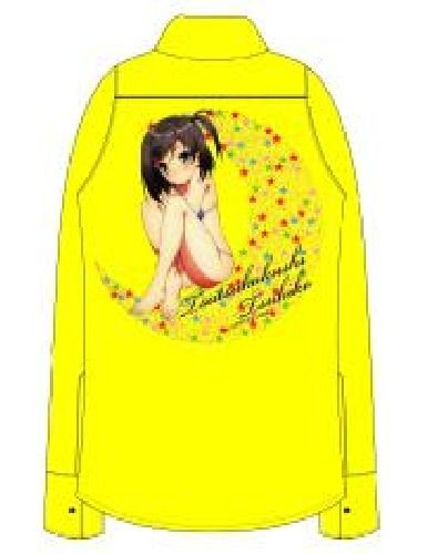 Cat not laugh and pervert prince. x yellow shirt size Tsukiko hidden LIVERTINEAGE tube: L (japan import) by Chara-Ani