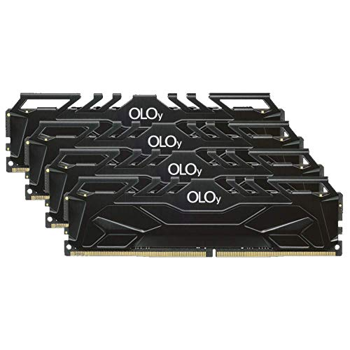 OLOy Memory DDR4 RAM 128GB (4x32GB) 3000 MHz CL16 1.35V 288-Pin Desktop Gaming UDIMM (MD4U323016DJQA)