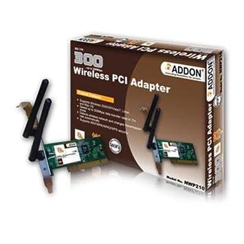 ADDON NWP210 WIRELESS PCI ADAPTER DRIVERS