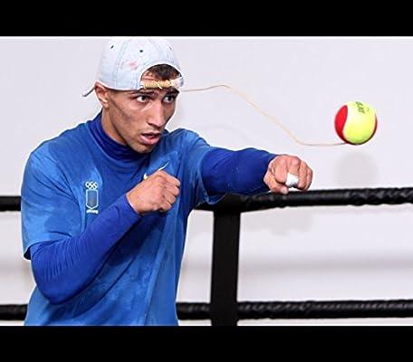Pelota rápida de tenis para boxeo: Amazon.es: Deportes y aire libre