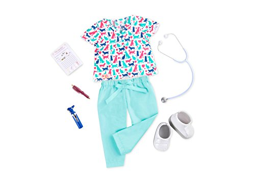 NEW! Our Generation Healthy Paws Outfit/Playset for most 18