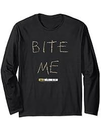The Walking Dead Norman Reedus Bite Me Long Sleeve T-Shirt