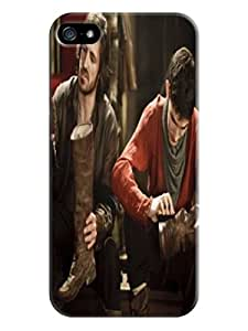 2014 New Style Merlin fashionable pictures Print Design for iphone 5/5s TPU Hard Plastic Case