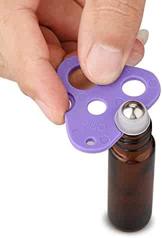 Olilia Essential Oils Opener - Essential Oil Key Tool For Easily Remove Roller Balls and Caps On Most Bottles (Purple)
