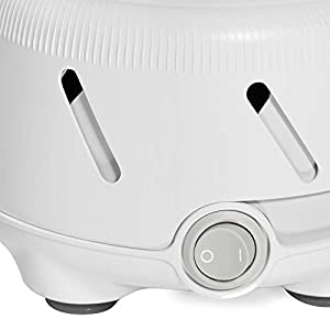 Marpac Dohm UNO White Noise Machine | Real Fan Inside for Non-Looping White Noise | Sound Machine for Travel, Office Privacy, Sleep Therapy | for Adults & Baby | 101 Night Trial