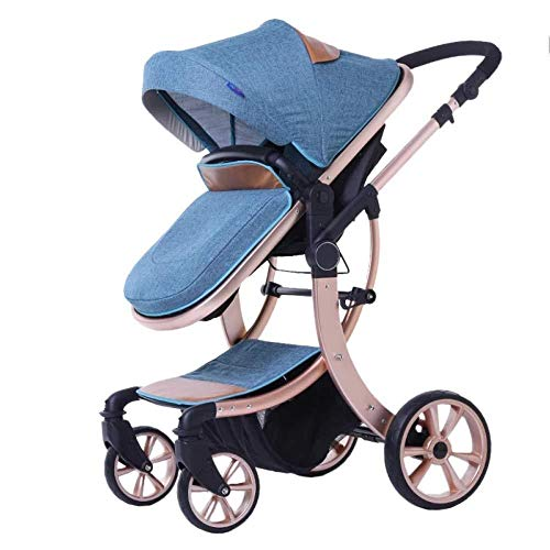XINCH Pushchairs Baby Stroller High Landscape Travel System Buggy Bidirectional from Birth Complete 0-3 Years Old bb Car